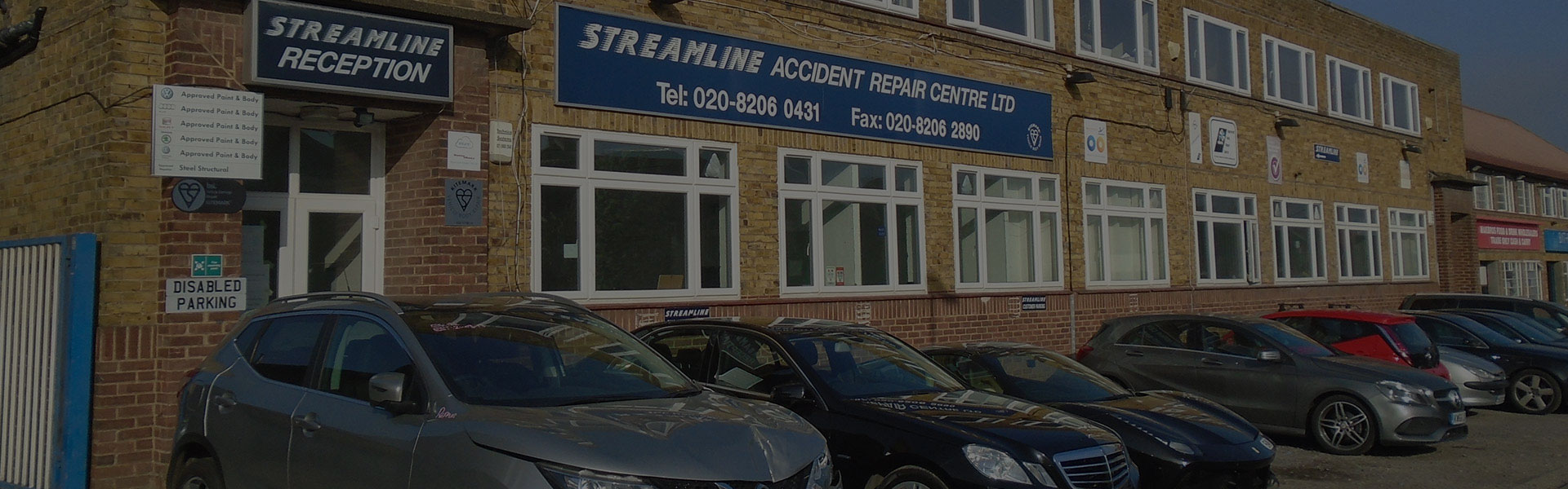 Welcome to Streamline Accident Repair Centre